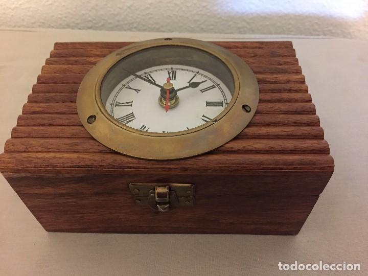 RELOJ / JOYERO CON ESPEJO (Relojes - Sobremesa Carga Manual)