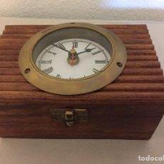 Relojes de carga manual: RELOJ / JOYERO CON ESPEJO. Lote 111441075