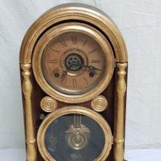 Relojes de carga manual: RELOJ SOBREMESA. MÁQUINA ANSONIA PARA JUAN SHAW E HIJOS. BUENOS AYRES (ARGENTINA). FINALES SIGLO XIX. Lote 111544007
