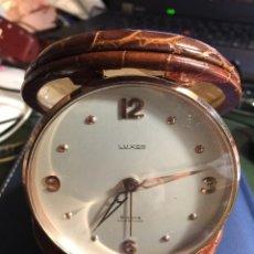 Relojes de carga manual: RELOJ LUXOR 8 DIAS SUIZO DE SOBREMESA . Lote 112320655
