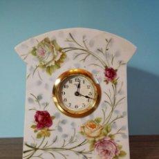 Relojes de carga manual: RELOJ DE PORCELANA. Lote 112748431