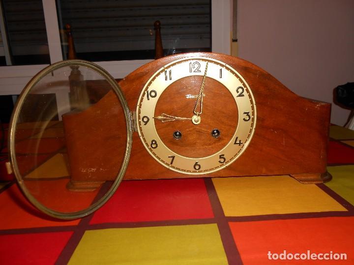 Relojes de carga manual: RELOJ DE SOBREMESA TRUMPF. FUNCIONA. - Foto 2 - 112828727