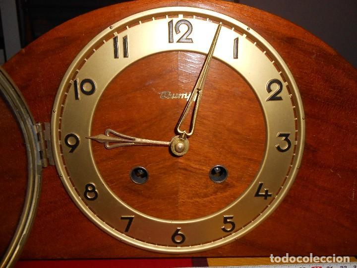 Relojes de carga manual: RELOJ DE SOBREMESA TRUMPF. FUNCIONA. - Foto 5 - 112828727