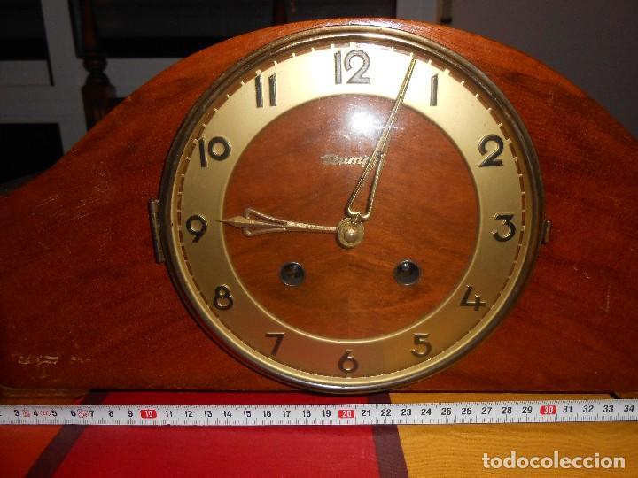 Relojes de carga manual: RELOJ DE SOBREMESA TRUMPF. FUNCIONA. - Foto 6 - 112828727