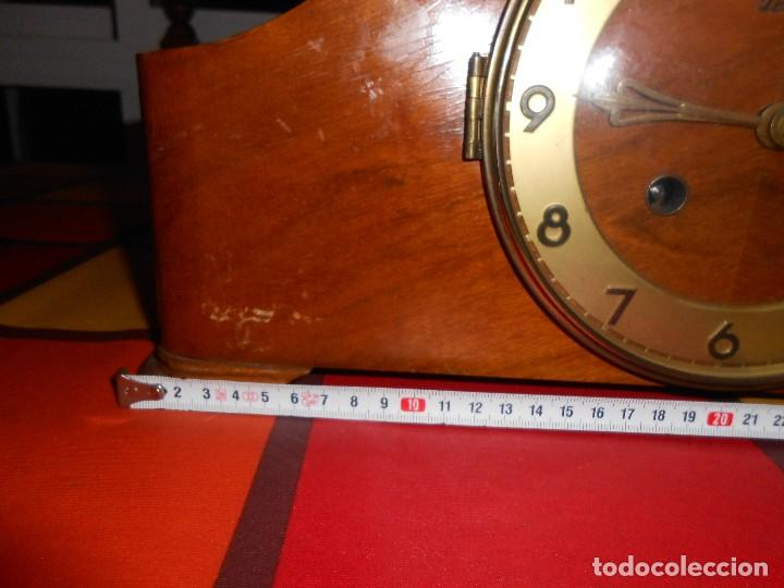 Relojes de carga manual: RELOJ DE SOBREMESA TRUMPF. FUNCIONA. - Foto 7 - 112828727