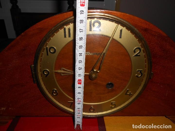 Relojes de carga manual: RELOJ DE SOBREMESA TRUMPF. FUNCIONA. - Foto 8 - 112828727