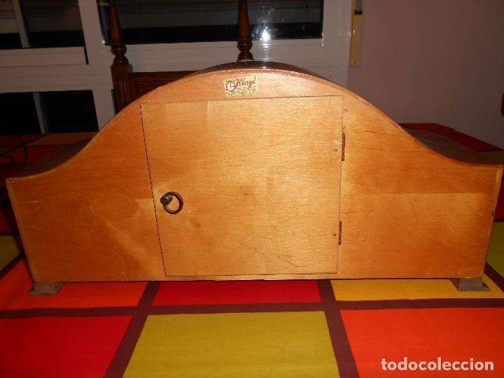 Relojes de carga manual: RELOJ DE SOBREMESA TRUMPF. FUNCIONA. - Foto 10 - 112828727