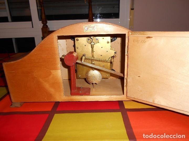 Relojes de carga manual: RELOJ DE SOBREMESA TRUMPF. FUNCIONA. - Foto 11 - 112828727