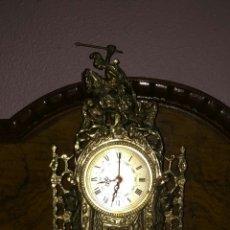 Relojes de carga manual: RELOJ SOBREMESA BRONCE. Lote 112903500