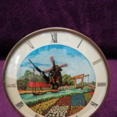 Relojes de carga manual: ANTIGUO RELOJ DE SOBREMESA FUNCIONANDO. Lote 113117495