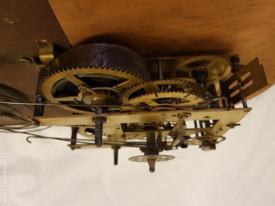 Relojes de carga manual: Reloj sobremesa. Máquina Ansonia para Juan Shaw e Hijos. Buenos Ayres (Argentina). Finales siglo XIX - Foto 13 - 111544007