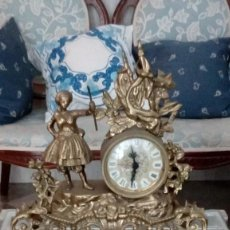 Relojes de carga manual: RELOJ DE BRONCE. Lote 113636835
