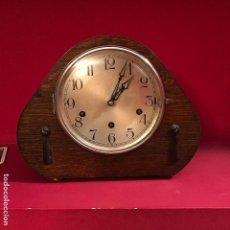 Relojes de carga manual: PRECIOSO RELOJ DE CHIMENEA INGLÉS SONIDO WESTMINSTER. Lote 114049087
