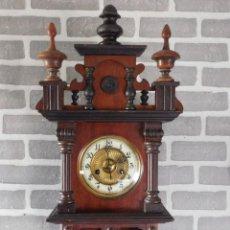 Relojes de carga manual: ¡¡GRAN OFERTA 149,99 € !! ANTIGUO RELOJ FREISWINGEER DE ALEMANIA-AÑO 1900 BUEN ESTADO. Lote 114280439