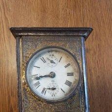 Relojes de carga manual: RARO RELOJ MUSICAL DE CARRUAJE. Lote 114365731