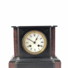 Relojes de carga manual: ANTIGUO RELOJ DE SOBRE MESA, ESTILO FRANCES, DE PIEDRA NATURAL, DE CARGA MANUAL. A CUERDA. Lote 114825407