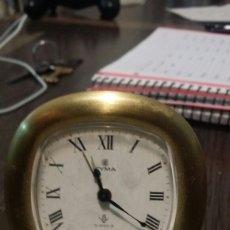 Relojes de carga manual: DESPERTADOR CYMA 15 JEWELS. FUNCIONA. Lote 114832247