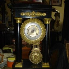 Relojes de carga manual: RELOJ DE COLUMNAS O PORTICO SIGLO XIX. Lote 115043983