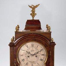 Relojes de carga manual: RELOJ BRACKET DE CAOBA SPENCER AND PERKINS, LONDRES. Lote 115515027