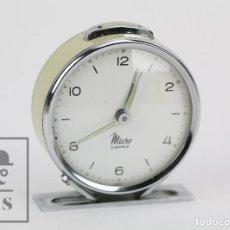 Relojes de carga manual: ANTIGUO RELOJ DESPERTADOR DE SOBREMESA - MICRO 2 JEWELS - AÑOS 50-60 - PIEZAS / RESTAURACIÓN. Lote 115550443