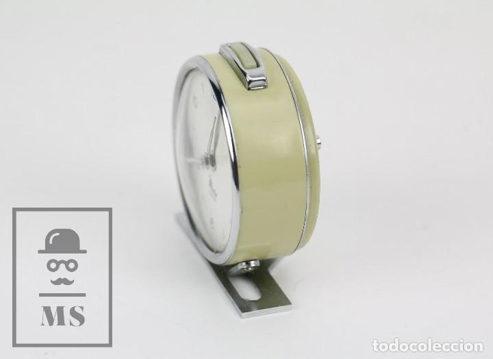 Relojes de carga manual: Antiguo Reloj Despertador de Sobremesa - Micro 2 Jewels - Años 50-60 - Piezas / Restauración - Foto 3 - 115550443