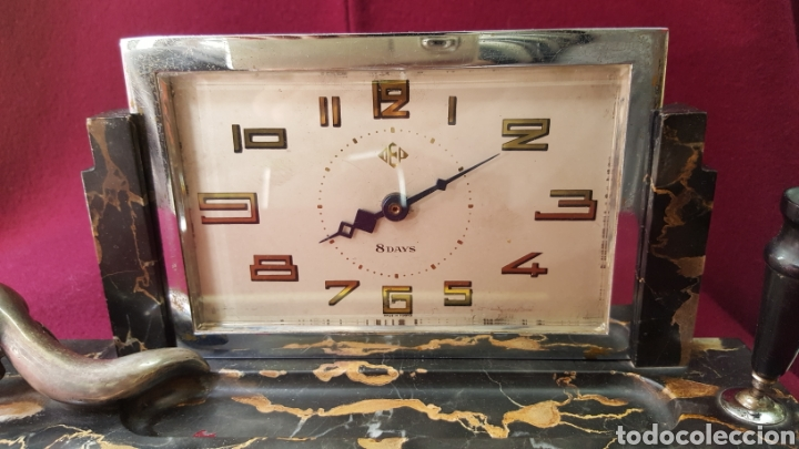 Relojes de carga manual: RELOJ ESTILO DECÓ DE ÉPOCA - Foto 7 - 115692736