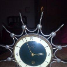 Relojes de carga manual: RELOJ DE SOBREMESA,MAQUINARIA. Lote 116857151