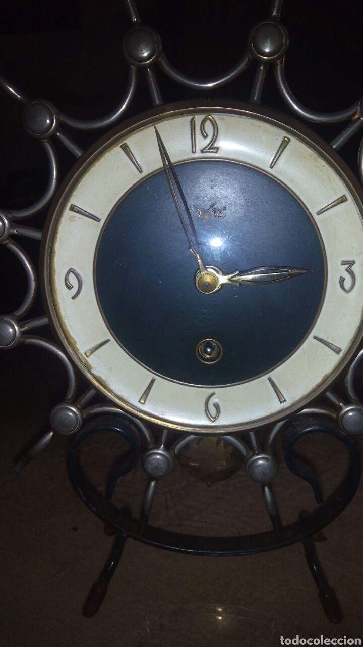 Relojes de carga manual: Reloj de sobremesa,maquinaria - Foto 3 - 116857151