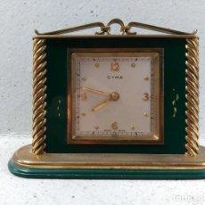 Relojes de carga manual: RELOJ CYMA DE SOBREMESA, CARGA MANUAL, SWISS MADE, EN BRONCE, FUNCIONANDO. Lote 117059943