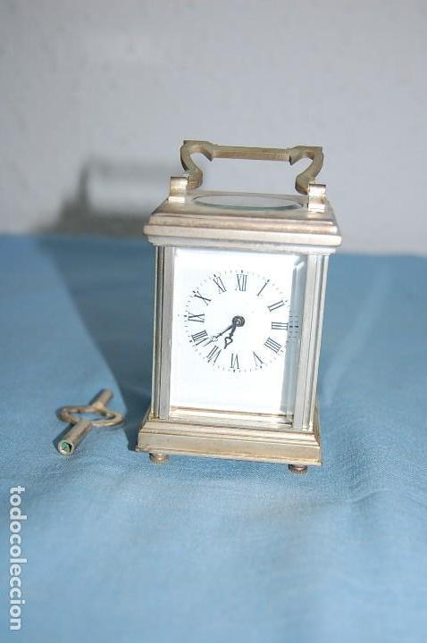Relojes de carga manual: RELOJ VIAJE METAL PLATEADO - Foto 2 - 117580279