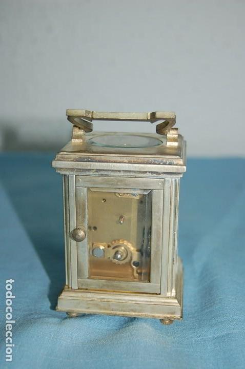Relojes de carga manual: RELOJ VIAJE METAL PLATEADO - Foto 4 - 117580279