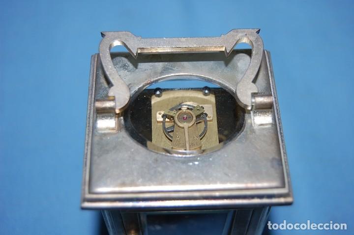 Relojes de carga manual: RELOJ VIAJE METAL PLATEADO - Foto 5 - 117580279