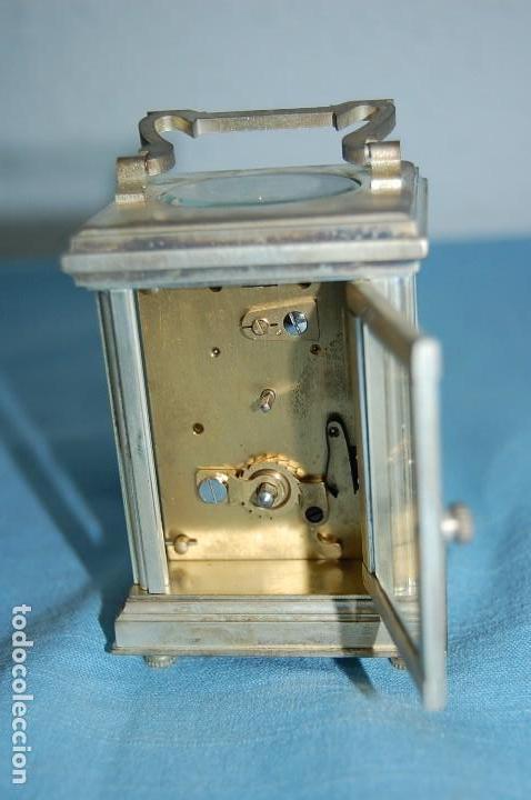 Relojes de carga manual: RELOJ VIAJE METAL PLATEADO - Foto 6 - 117580279