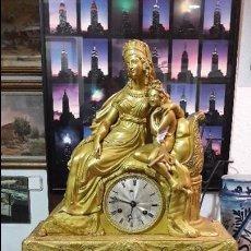 Relojes de carga manual: RELOJ SOBREMESA EPOCA IMPERIO. Lote 117702719