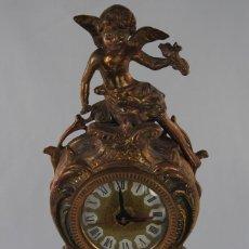 Relojes de carga manual: RELOJ DE BRONCE QUARTZ ANGELES. Lote 117905607