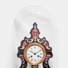 Relojes de carga manual: ESPECTACULAR RELOJ NAPOLEON III,PORTICO DE EPOCA,FUNCIONANDO , DE MAQUINA PARIS. Lote 117979639