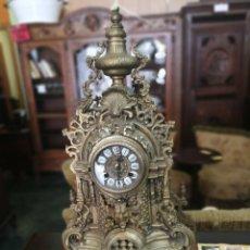 Relojes de carga manual: RELOJ DE BRONCE ANTIGUO.. Lote 118304548