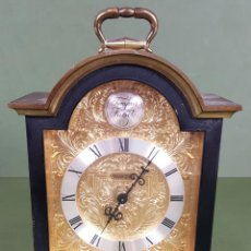 Relojes de carga manual: RELOJ DE SOBREMESA DE BRONCE. SWIZA. TEMPUS FUGIT. SUIZA. CIRCA 1970. . Lote 118519659