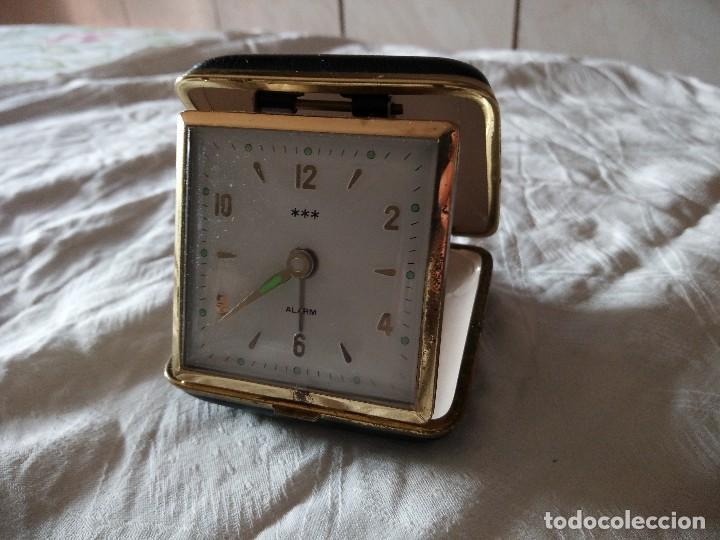 Relojes de carga manual: Antiguo reloj despertador de sobremesa carga manual , poket. - Foto 2 - 118670371