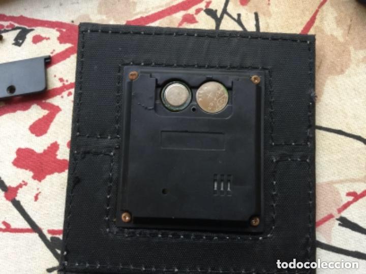 Relojes de carga manual: CAJA CUERO RELOJ DIGITAL CON ALARMA A PILAS DE BOTÓN - Foto 2 - 118950119