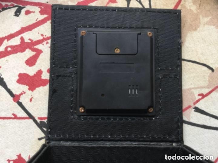 Relojes de carga manual: CAJA CUERO RELOJ DIGITAL CON ALARMA A PILAS DE BOTÓN - Foto 3 - 118950119