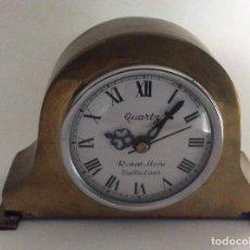 Relojes de carga manual: RELOJ DE SOBREMESA ESTILO VINTAGE EN DORADO. Lote 118979403