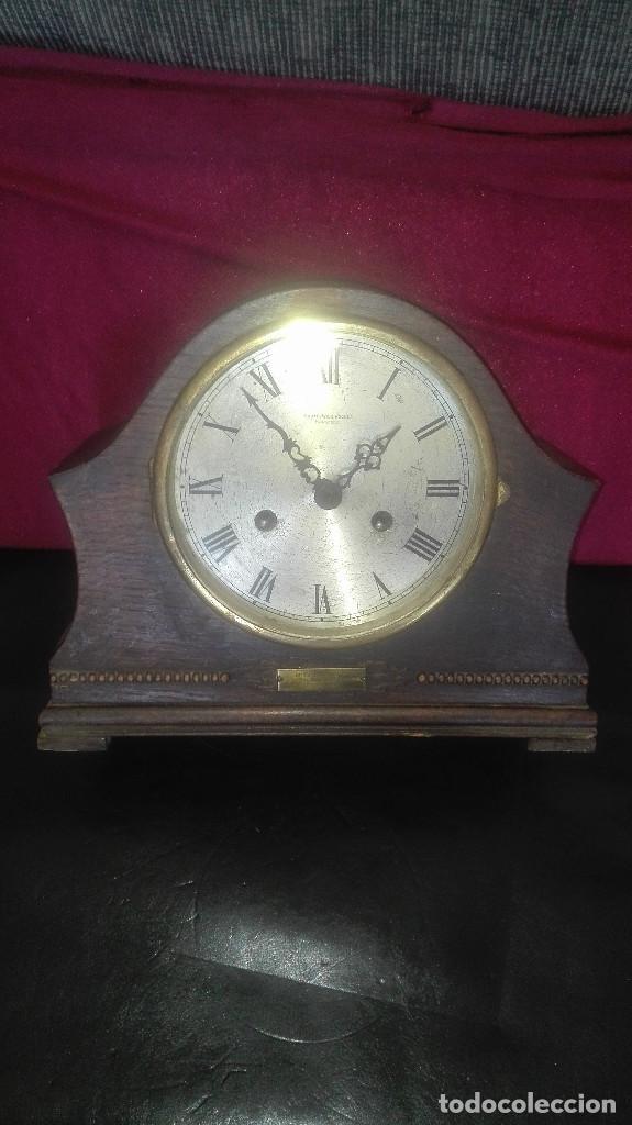 Relojes de carga manual: reloj sobremesa inglés. m.wilkinson.mansfield.1930 - Foto 2 - 119195843