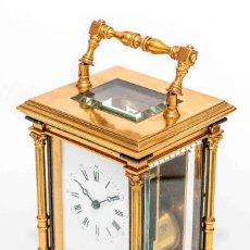 Relojes de carga manual: ESPECIAL RELOJ DE CARRUAJE O DE VIAJE, ORIGEN INGLES, CON SONERIA Y FUNCIONANDO,CIRCA 1900. Lote 119237807