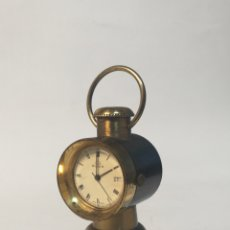 Relojes de carga manual: PRECIOSO RELOJ BULER DE SOBREMESA CARGA MANUAL.. Lote 119256658