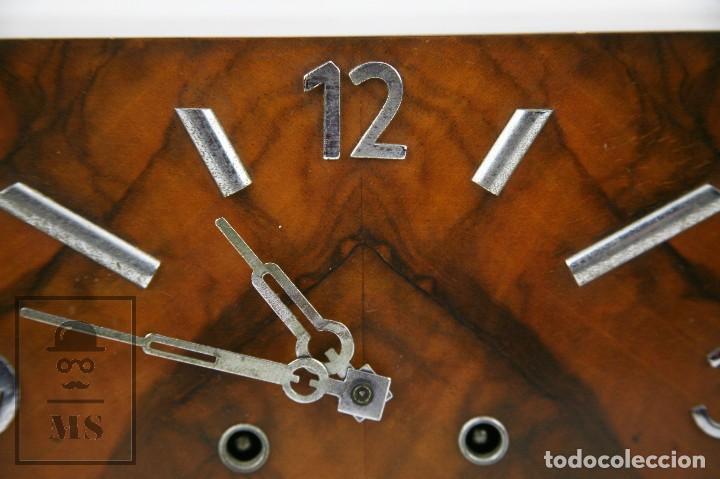 Relojes de carga manual: Antiguo Reloj Art Déco de Sobremesa - Marca Original, Caja Rectangular - Años 30-40 - Funcionando - Foto 3 - 119427855