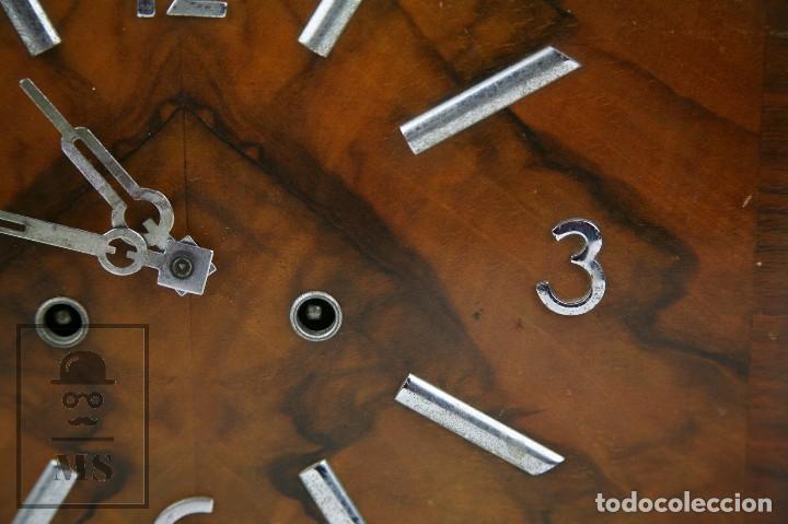 Relojes de carga manual: Antiguo Reloj Art Déco de Sobremesa - Marca Original, Caja Rectangular - Años 30-40 - Funcionando - Foto 4 - 119427855