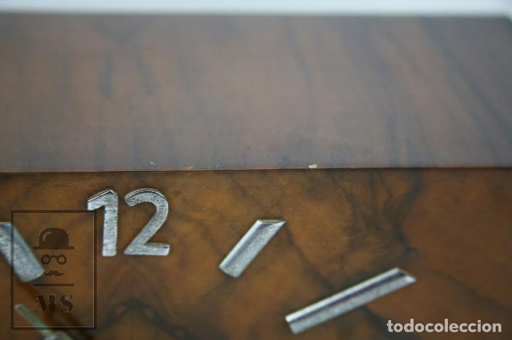 Relojes de carga manual: Antiguo Reloj Art Déco de Sobremesa - Marca Original, Caja Rectangular - Años 30-40 - Funcionando - Foto 5 - 119427855