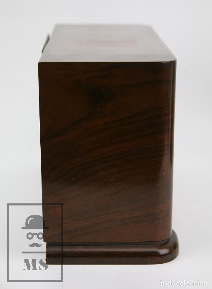 Relojes de carga manual: Antiguo Reloj Art Déco de Sobremesa - Marca Original, Caja Rectangular - Años 30-40 - Funcionando - Foto 6 - 119427855