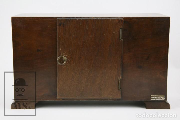Relojes de carga manual: Antiguo Reloj Art Déco de Sobremesa - Marca Original, Caja Rectangular - Años 30-40 - Funcionando - Foto 7 - 119427855